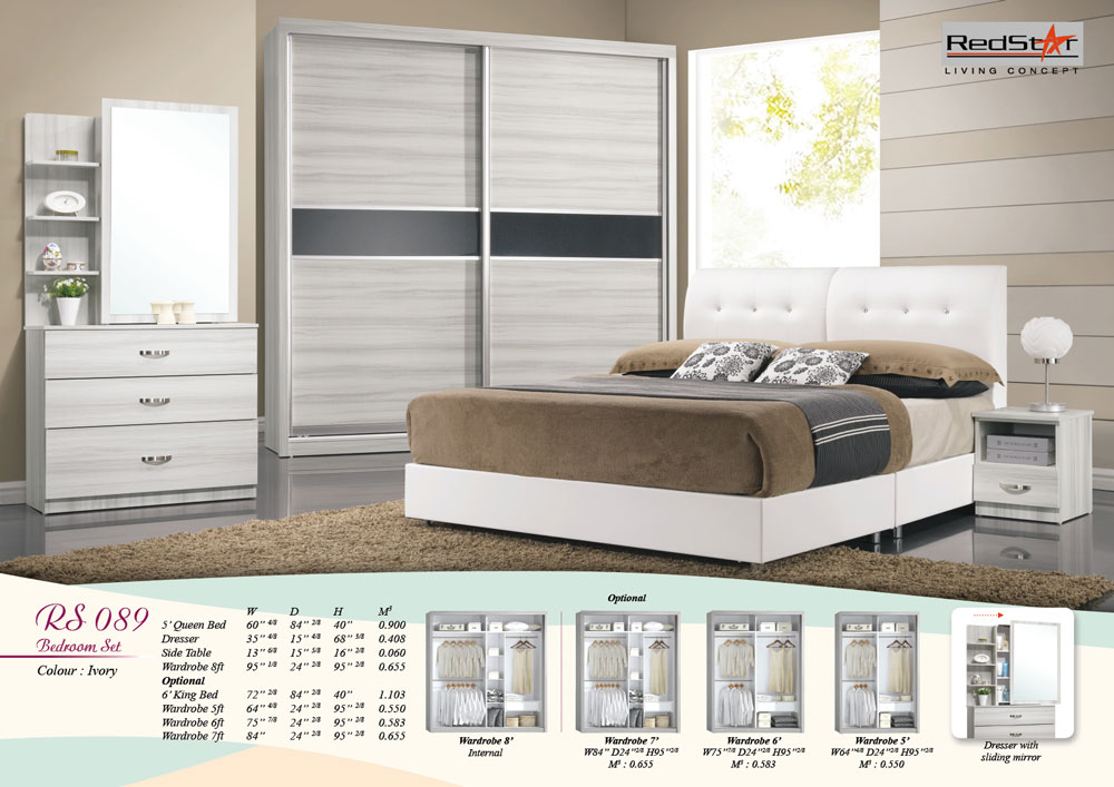 Ivory – Bedroom Furniture Set Malaysia
